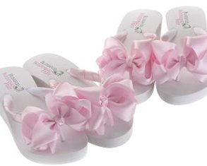 Bridesmaids Flip Flops for Weddings