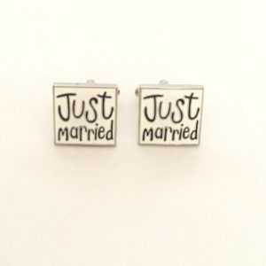 Just Married Cufflinks