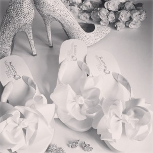 Beach Wedding; Bridal Shoes