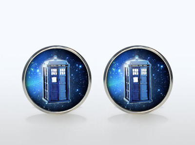 Dr Who Cufflinks