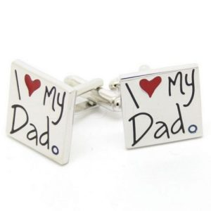 I love my Dad cufflinks