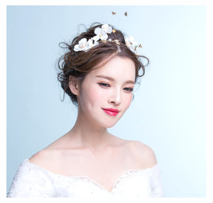 Outdoor Wedding, beach wedding, bridal headpiece