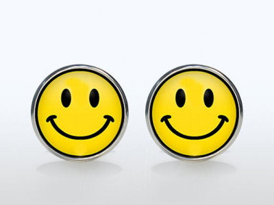 Smiley Face Cufflinks