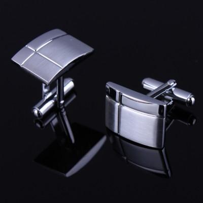 Stainless Steel Gemelos Cufflinks