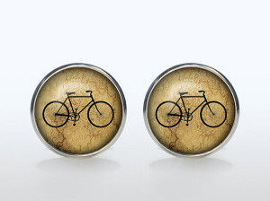 The Classic Bicycle Cufflinks