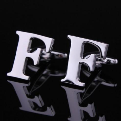 Mens alphabet cufflinks