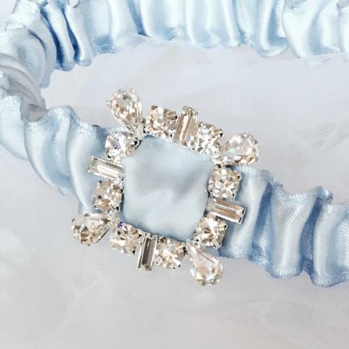 Bling garter; Wedding Garter Australia; Garter, Blue Garter