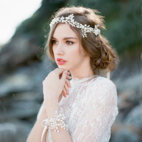 Bridal Hairpieces; Bridal Headpieces; Bridal Hair Vine, headpiece