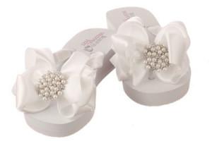 wedding shoes, wedding flip flops, bridal flip flops, beach wedding shoes