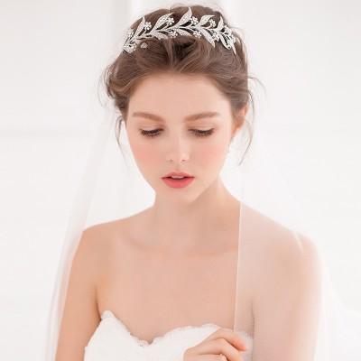 Rhinestone Bling Bridal headpiece