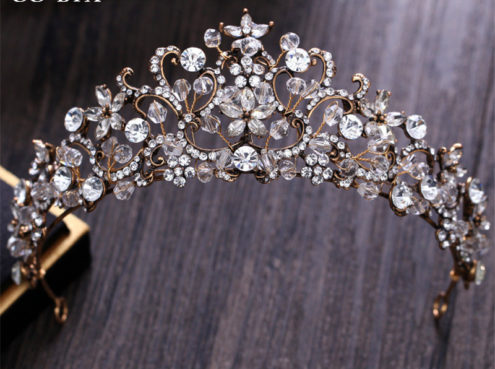 Crystal and Rhinestone Vintage Headpiece